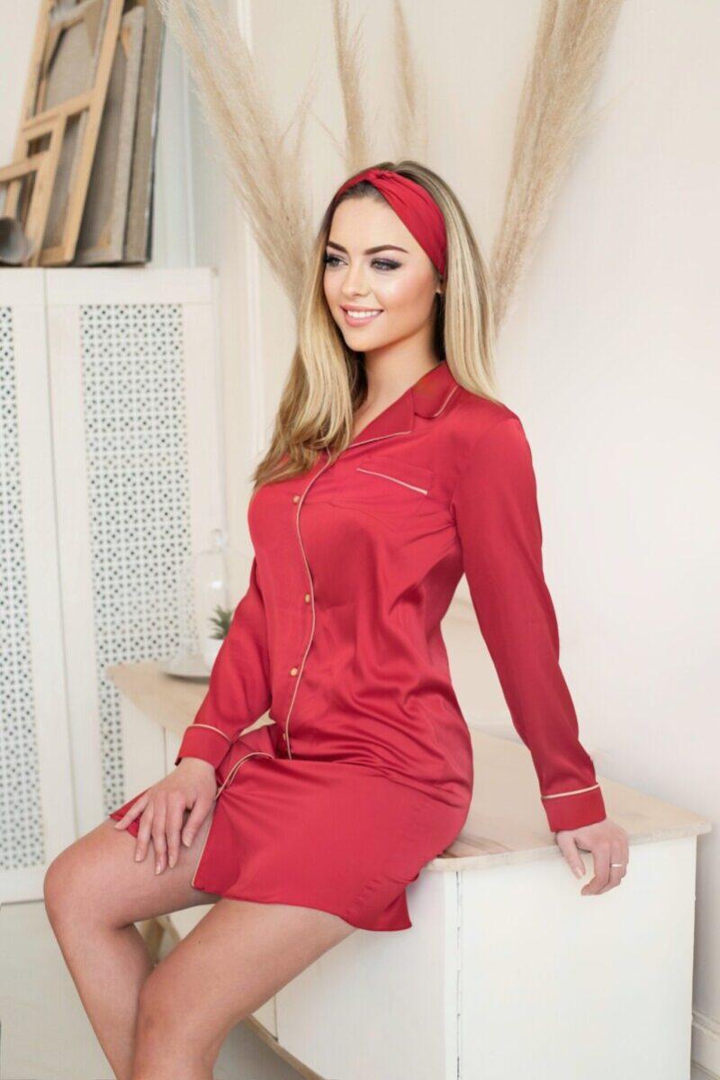 Платье-рубашка ARMANI шелк